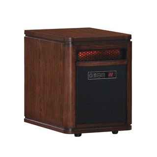 DuraFlame 10HM4128-X446 Cappuccino Brown Ash Portable Electric Infrared Quartz Heater