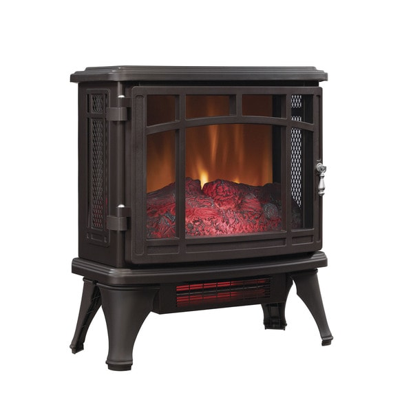 Shop Duraflame Dfi 8511 02 Bronze Infrared Quartz Electric