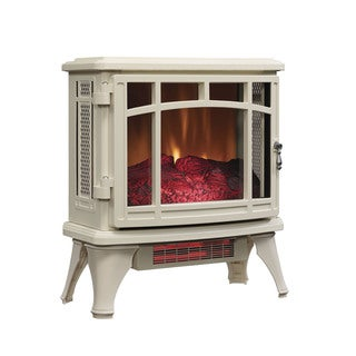 Duraflame DFI-8511-04 Cream Infrared Quartz Electric Stove Heater