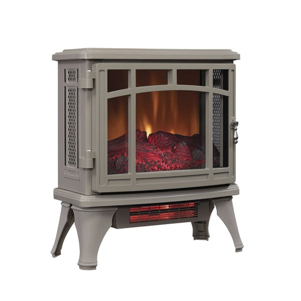 Duraflame DFI-8511-02 French Gray Infrared Quartz Electric Stove