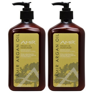 Amir Argan Oil 18-ounce Moisturizer (Pack of 2)