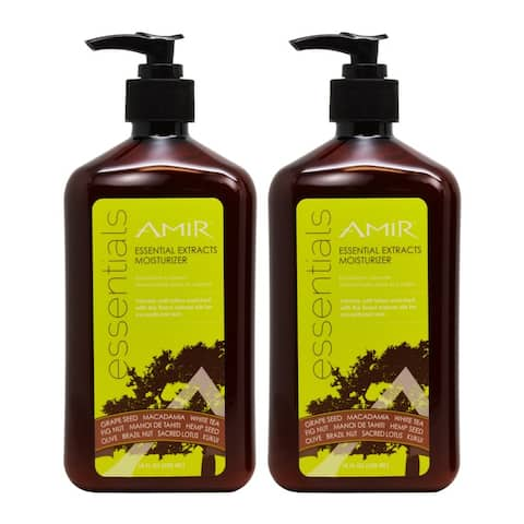 Amir Essential Extracts 18-ounce Moisturizer (Pack of 2)
