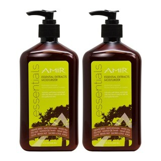Amir Essential Extracts 18 oz. Moisturizer (Pack of 2)