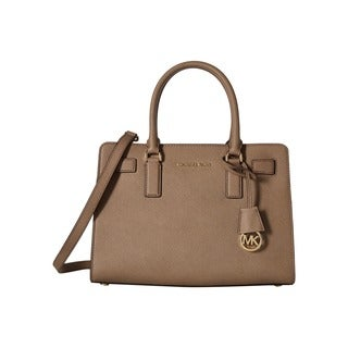 Michael Kors Dillon Dark Dune East/West Satchel Handbag