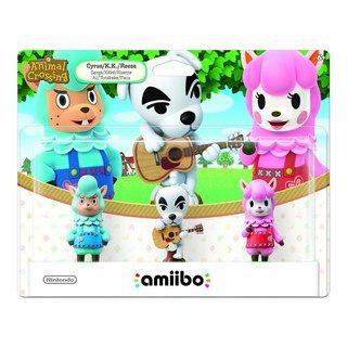 Animal Crossing 3 Pack (K.K. Slider-Reese-Cyrus)
