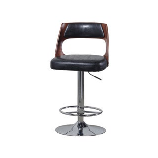 Powell Aberdeen Stamped Back Big And Tall Barstool With