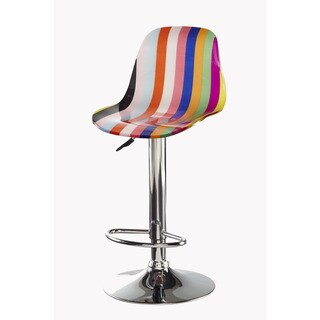Powell Jolene Striped Barstool