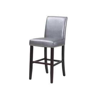 Powell Wicklow Pewter PU Barstool