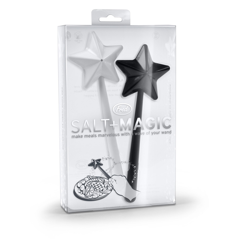 Fred & Friends Salt and Pepper Magic Shakers (Salt & Magi...