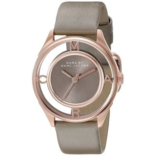 Marc Jacobs Women's MBM1375 'Thether' Grey Stainless Steel Watch