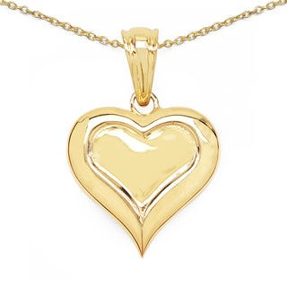 Olivia Leone 14K Yellow Gold Plated .925 Sterling Silver Pendant