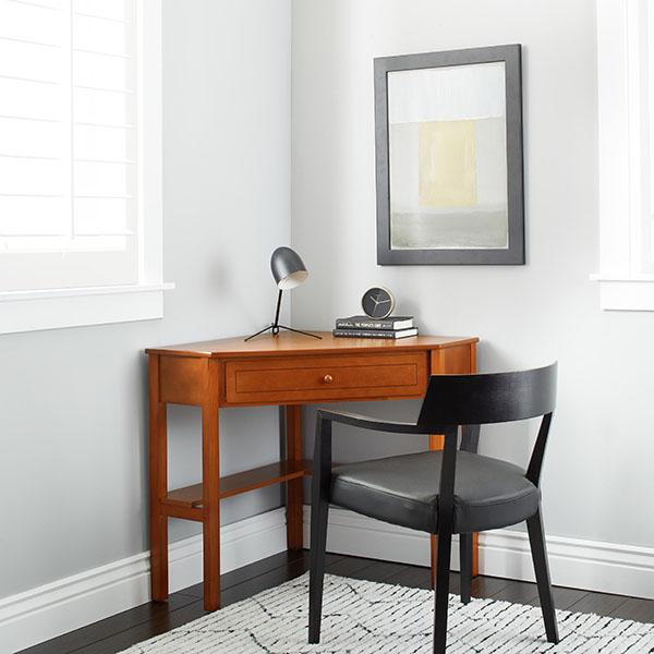 Simple Living Wood Corner Computer Desk
