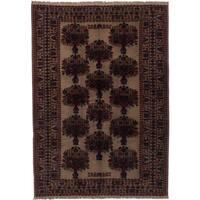 ecarpetgallery Finest Mouri Beige Wool Rug