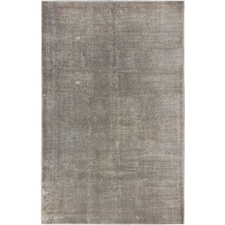 ecarpetgallery Color Transition Gray Wool Rug (5' x 7')