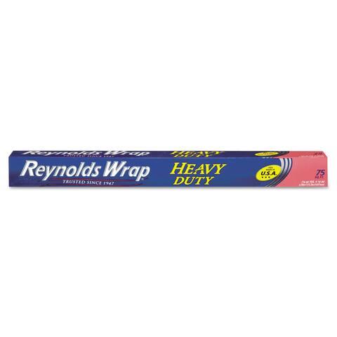 Reynolds Wrap Heavy Duty Silver Aluminum Foil Roll
