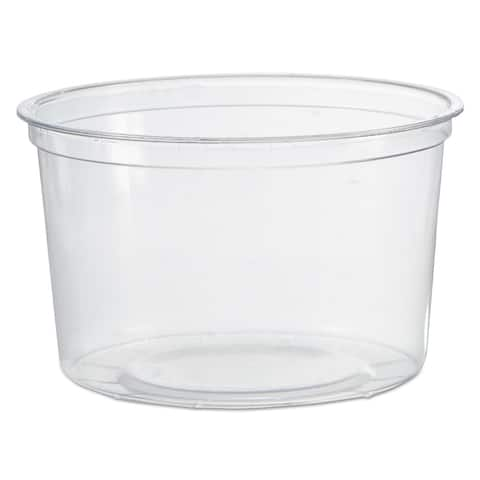 WNA Deli Clear Containers (10 Sleeves of 50 Containers)