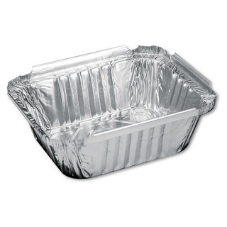 Handi-Foil of America Aluminum Oblong Containers (Case of 1000)