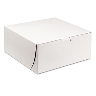 SCT Tuck-Top White Bakery Boxes (Pack of 200)