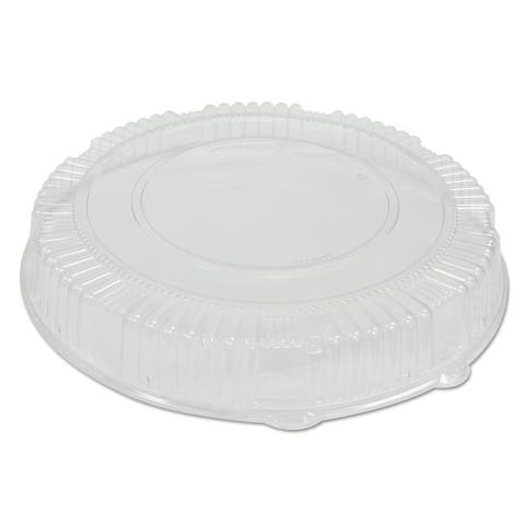 WNA Caterline Clear Plastic Dome Lids (Pack of 25)