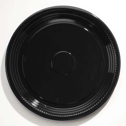 WNA Caterline Casuals Black Thermoformed Platters (Pack of 25)