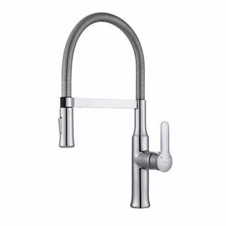 Kraus Nola Single Lever Flex Commercial Style Kitchen Faucet (2 options available)