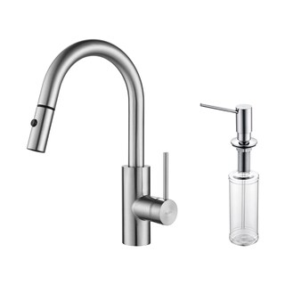 Kraus Oletto Single-Lever Pull-Down Kitchen Faucet