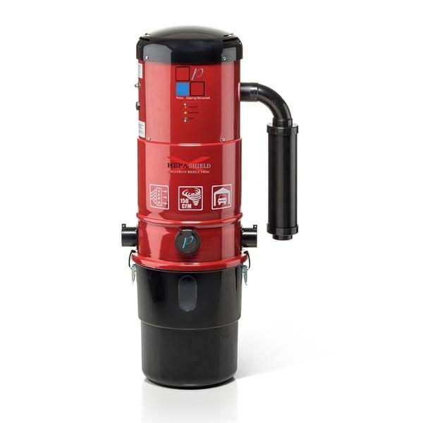 Prolux CV12000 Central Vacuum Power Unit Red