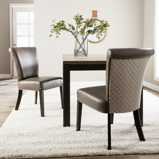 Hazelton Home Bryce Dining Chair In Fabric (Set of 2)
