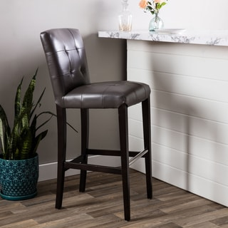 Hazelton Home Connor Barstool In Leather