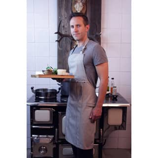 Railroad Stripe Denim Adult Butcher Apron|https://ak1.ostkcdn.com/images/products/10703834/P17764062.jpg?impolicy=medium
