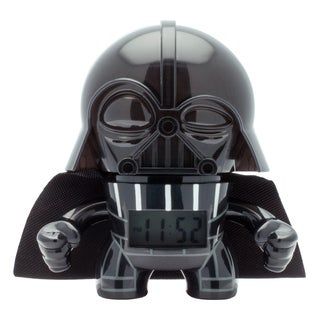 BulbBotz Star Wars Kid's Mini Darth Vader Clock
