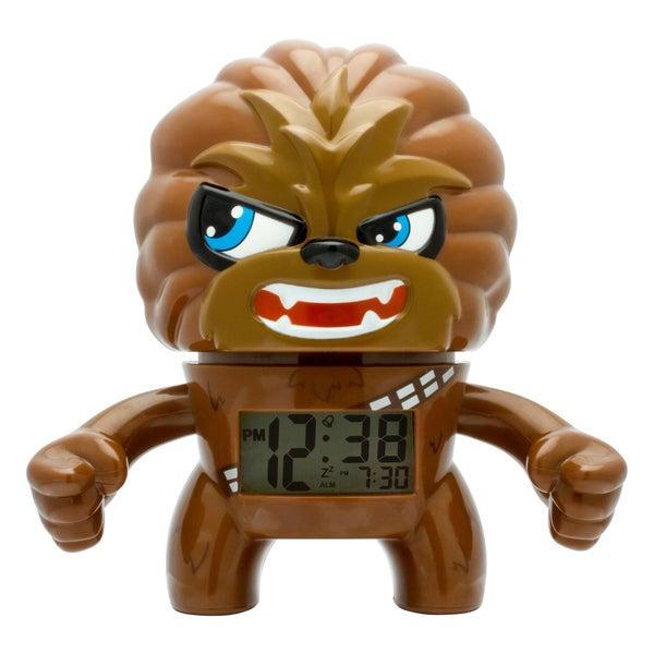 BulbBotz Star Wars Kid's Light Up Chewbacca Clock