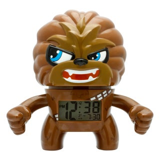 BulbBotz Star Wars Kid's Light Up Chewbacca Clock