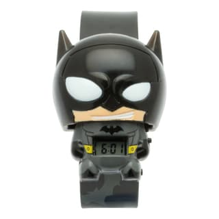 BulbBotz DC Comics Super Heroes Kid's Light Up Batman Watch