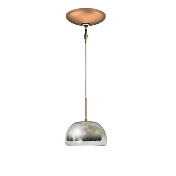 Shop jesco 1 light hand blown mirrored recycled glass mini pendant jesco 1 light hand blown mirrored recycled glass mini pendant kit aloadofball Choice Image