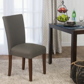 Link to HomePop Parson Dining Chair- Textured Everly Truffle - Single Similar Items in Dining Room & Bar Furniture