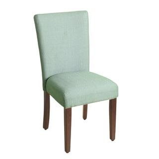 HomePop Seafoam Green Linen-look Parson Dining Chair (Single)