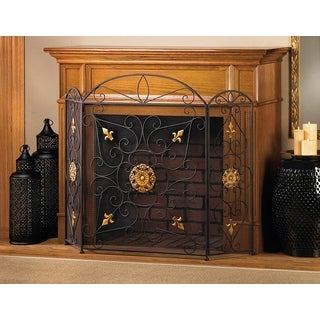 Heather Elegant Fireplace Screen