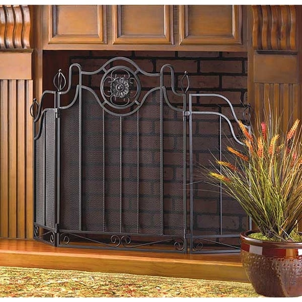 Primrose Classic Fireplace Screen - Free Shipping Today ...