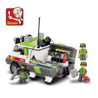 Sluban Interlocking Bricks Mechanic Working Car M38-B0136