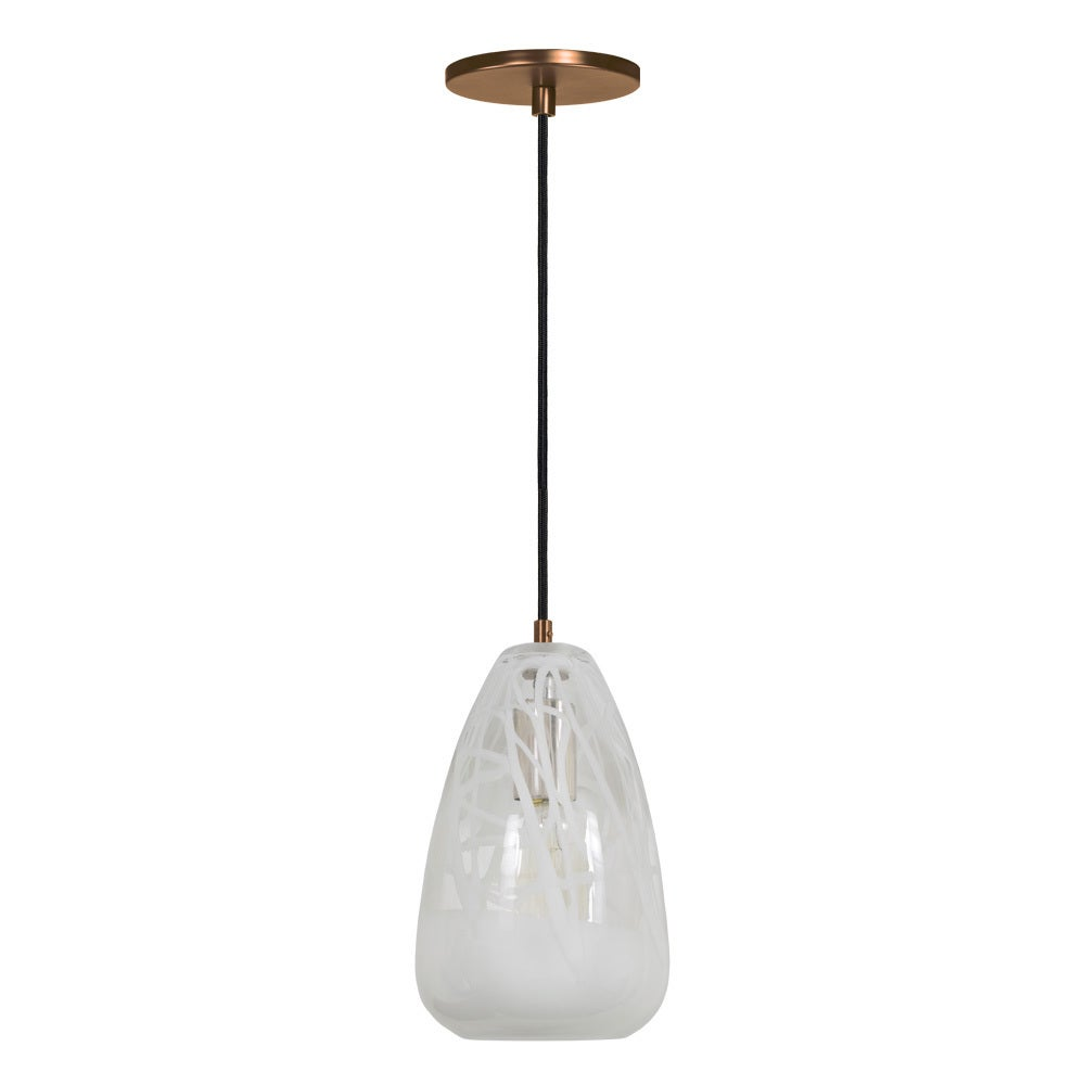 Shop jesco 1 light hand blown glass pendant with canopy on sale jesco 1 light hand blown glass pendant with canopy aloadofball Images