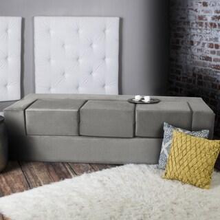 Jaxx Zipline California King Convertible Sleeper Sofa and Ottomans
