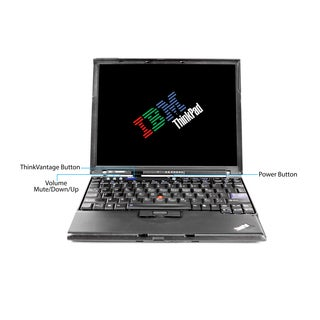 Lenovo ThinkPad X61 12.1-inch 1.8GHz Intel Core 2 Duo CPU 3GB RAM 250GB HDD Windows 7 Laptop (Refurbished)