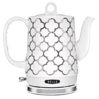 Bella 1.2-Liter Silver Ceramic Electric Kettle|https://ak1.ostkcdn.com/images/products/10704320/P17764446.jpg?impolicy=medium