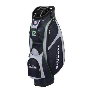 Shop Nfl Cart Bag Seattle Seahawks Free Shipping Today
