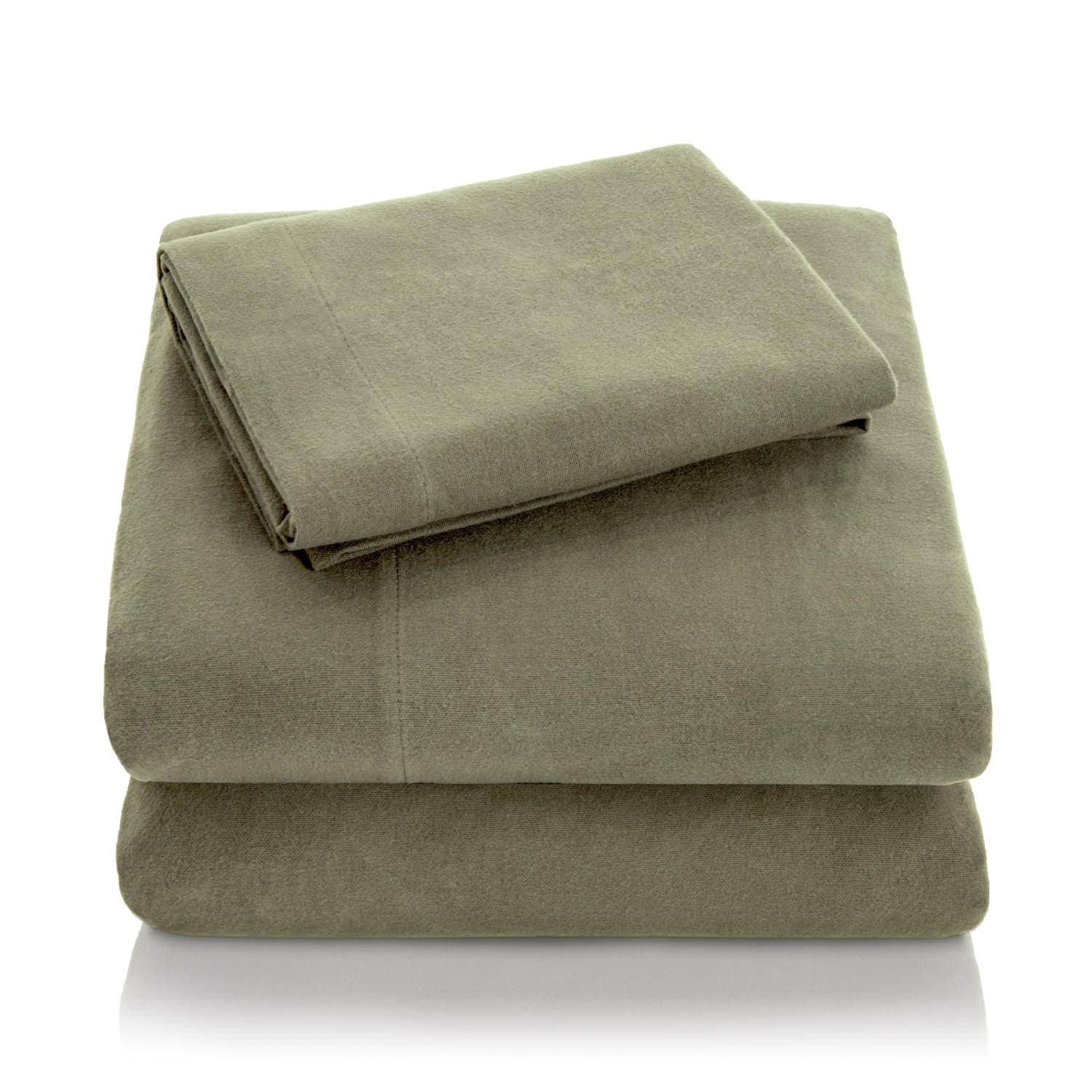 Woven Ultra Soft Portuguese Flannel Bed Sheet Set Overstock 10704396