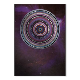 Gallery Direct 'Galactica' Laurie McCall Printed on Metal Wall Art