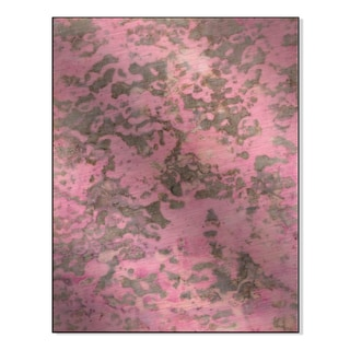 Gallery Direct 'Pink Travertine' Leslie Saris Printed on Metal Wall Art