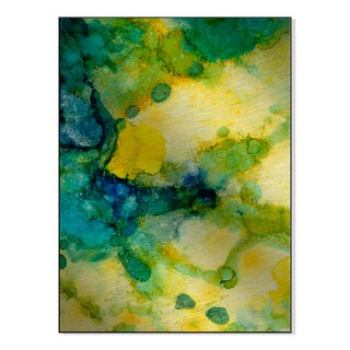 Gallery Direct 'Crystal River I' Carole Pena Printed on Metal Wall Art