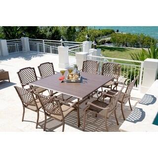 Panama Jack Island Breeze 9-piece Slatted Dining Group